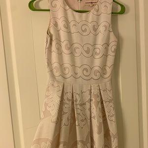 White and Cream classy dress!